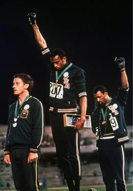 Fists UP 1968 Olympics